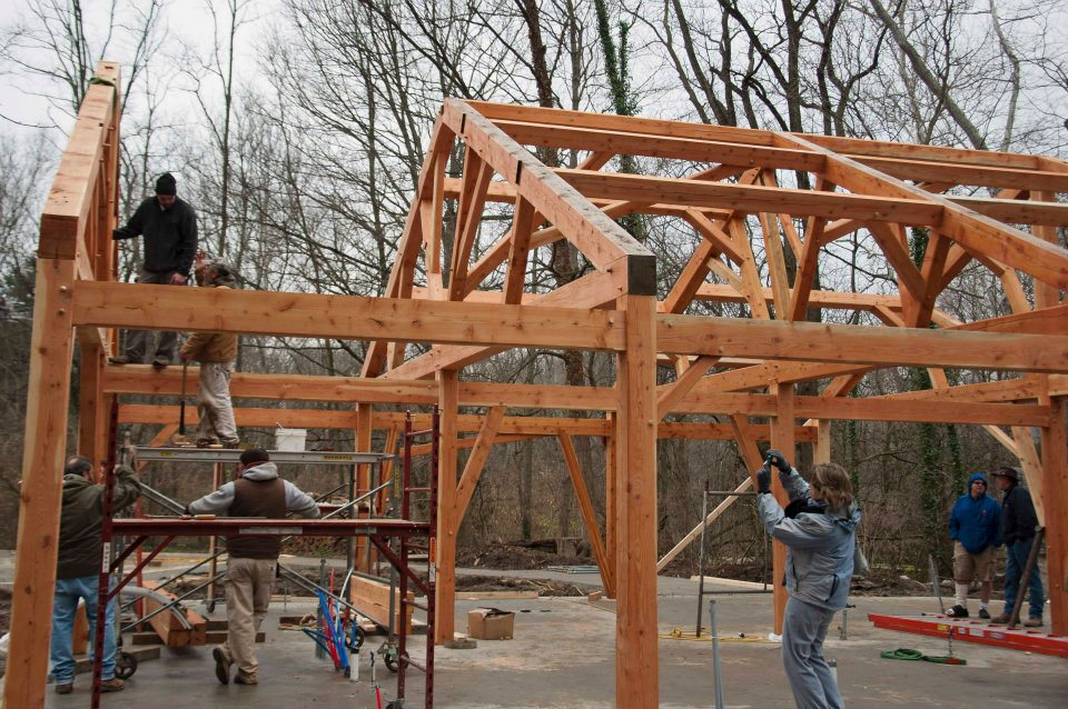 Timber Frame On Pinterest Timber Frames Joinery And